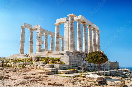 Fotobehang Athene sunion