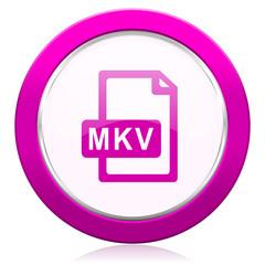 mkv file violet icon