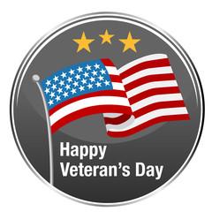 Happy Veterans Day Icon