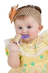Little baby chews toy