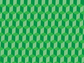 Textura de cubos verdes