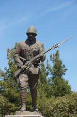 Statue of a Turk Unknown WWI Soldier