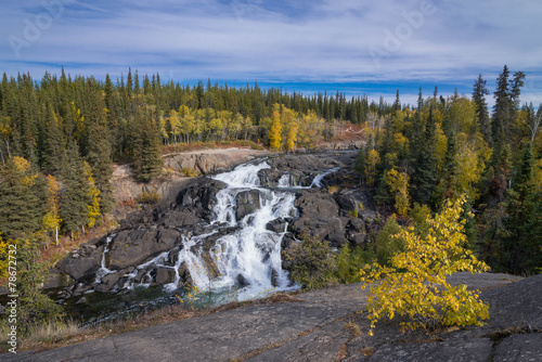 Foto op Canvas Rivier Cameron Falls, Northwest Territories