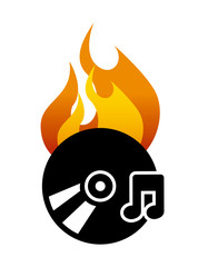 burn music
