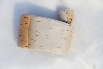 Birch scroll