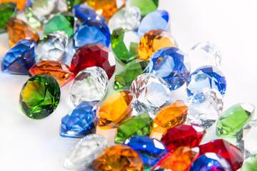 Multicolored Diamonds