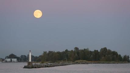 Full Moon Over Steveston