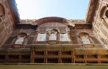 Architecture of Meherangarh fort, jodhpur