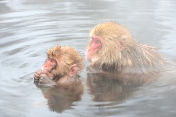 親子でお風呂