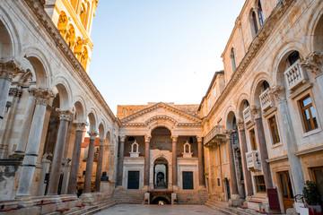 Cathedral square in Split city