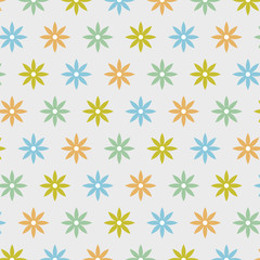 Vector Background #Flower Dot Pattern, Color