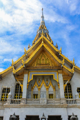 Sothorn  temple in Chachoengsao Thailand
