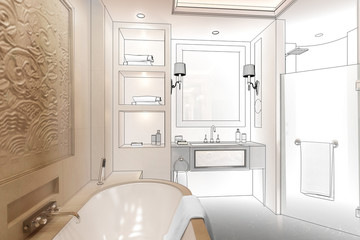 Luxury Bathroom (project)