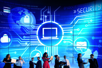 Business Security Technology Communication Corporate Concept