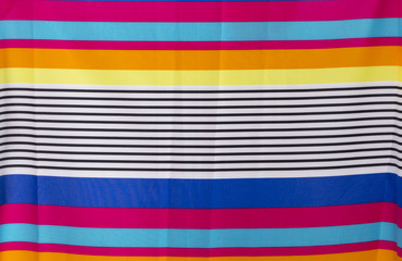 colorful line fabric
