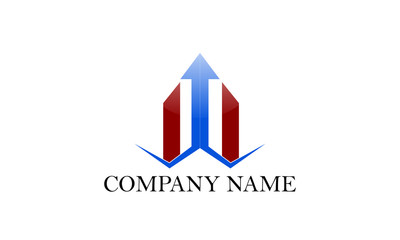 financial logo vector