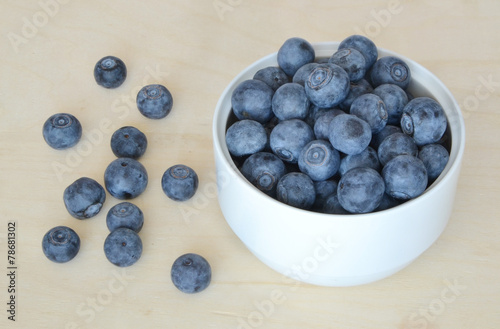 canvas print picture Blueberry