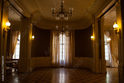 Hall in the Lviv ancient casino - 78683569