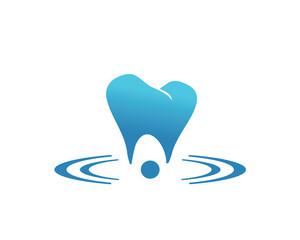 Tooth Brushing Illustration and Logo