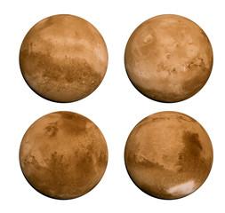 Planet Mars 4 views