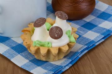 Creamy basket