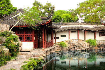 Garden of Fisherman in Suzhou, China