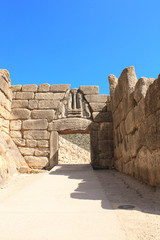 Lion Gate, Archaeological Site of Mycenae, Greece