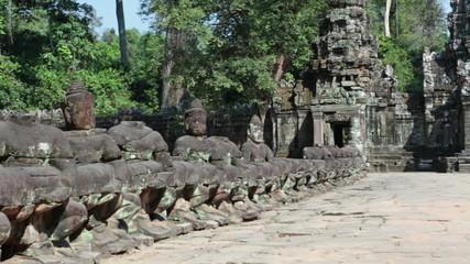 Preah Khan Temple (12th Century) in Angkor Wat, Siem Reap,