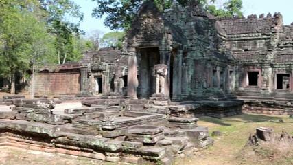 Preah Khan Temple (12th Century) in Angkor Wat, Siem Reap, Cambo