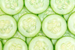 Cucumber slices background - 78686780