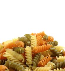 Espirales de pasta para ensaladas