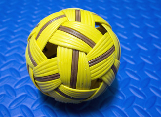 An Asian Sport- Takraw Ball