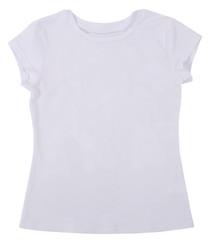 Women's shirt Isolated on white background.