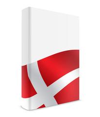 Denmark book cover flag white
