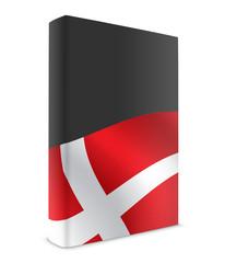 Denmark book cover flag black