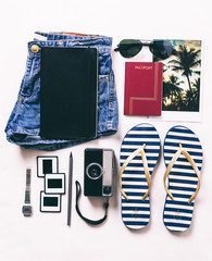 Vacation essentials.