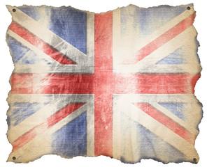 UK Weathered Flag