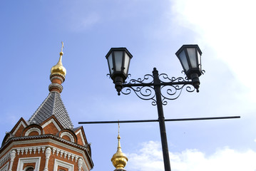 Chapel of Alexander Nevsky in Yaroslavl, Russia.