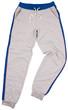 Sports sweatpants isolated on white background