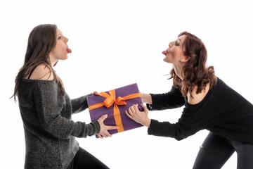 Streit um ein Geschenk