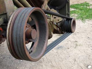V-belt transmission
