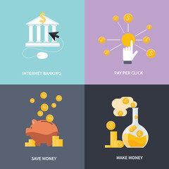 Internet banking, make money, save money
