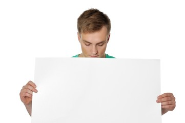 Please use this paper to write your message.