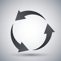 Vector recycle icon