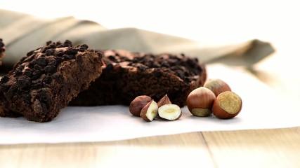 Tasty chocolate brownies