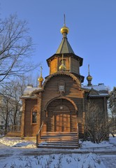 """Moscow, Church of the Mother of God """"Reigning"""""""