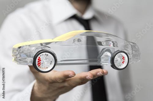 canvas print picture car