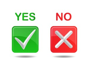 Yes and No (Approved and Denied) Buttons