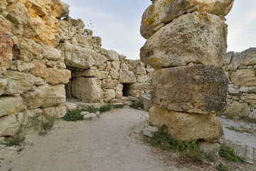 Archaelogical ruins