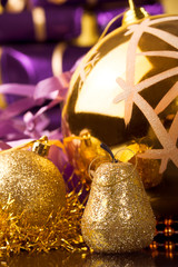 Christmas time and gifts and celebration